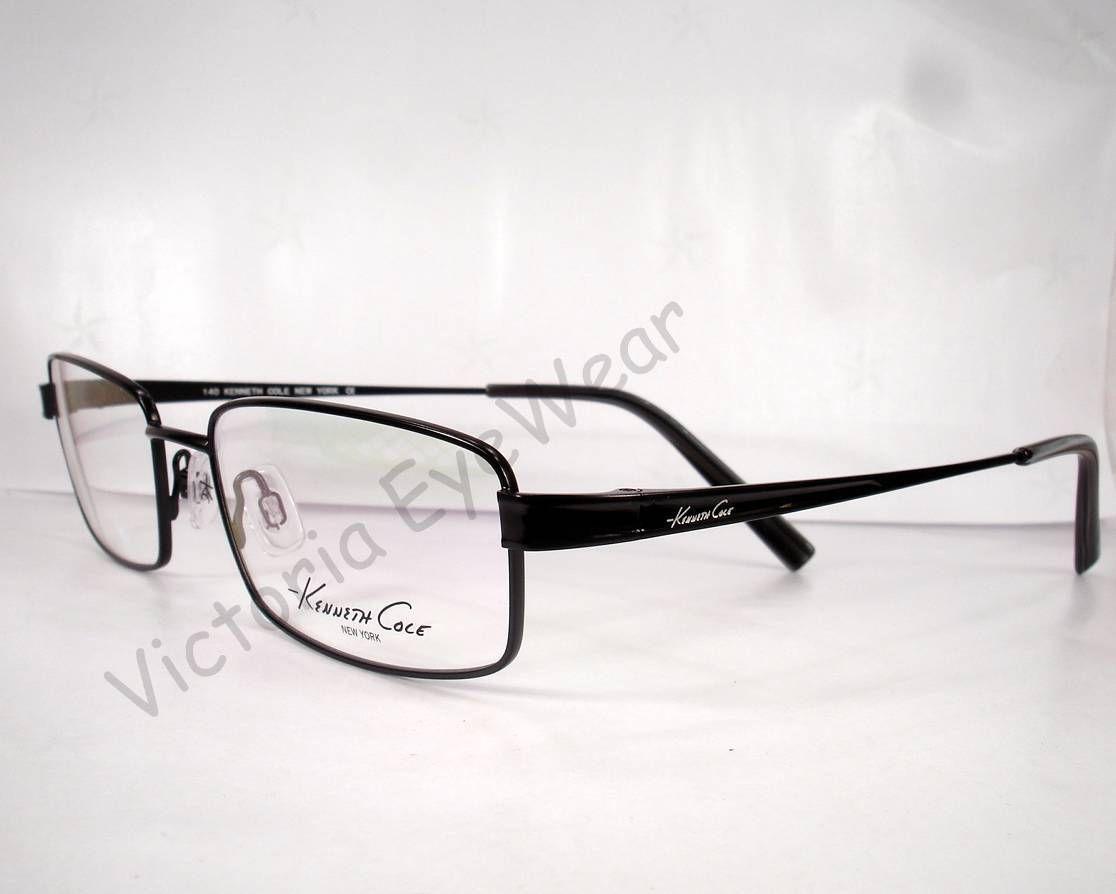 Designer Glasses Frames New York : Kenneth Cole New York KC0117 117 Black Men Eyewear ...