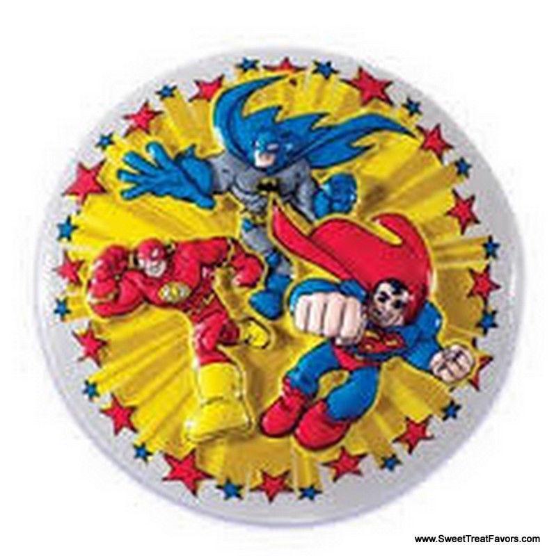 Superman Cake Decorating Kit Topper : SUPERFRIENDS Cake Decoration Justice League Topper Kit ...