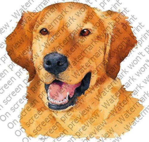 1/4 Sheet ~ Golden Retriever Dog ~ Edible Image Cake ...