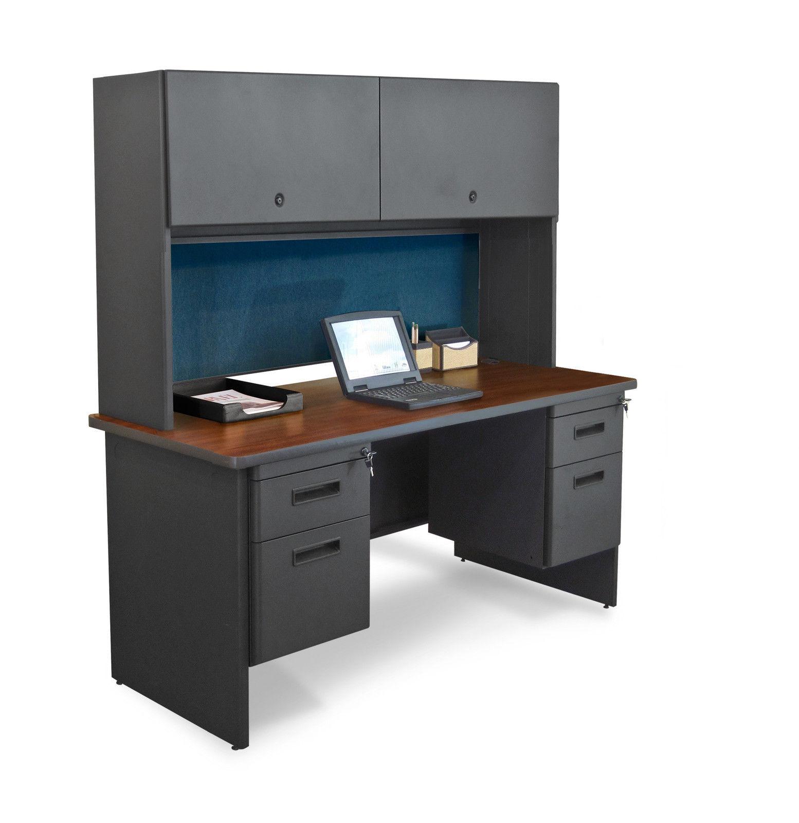 Pronto 60 Double File Desk Amp Flipper Door Cabinet 60x24