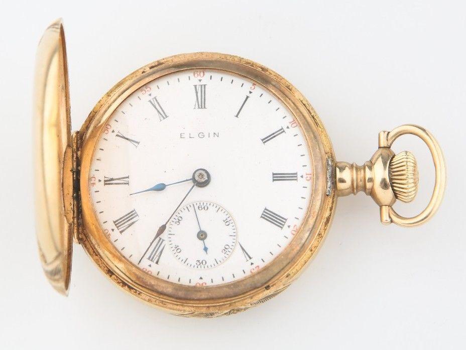 Elgin Gold Watch Value