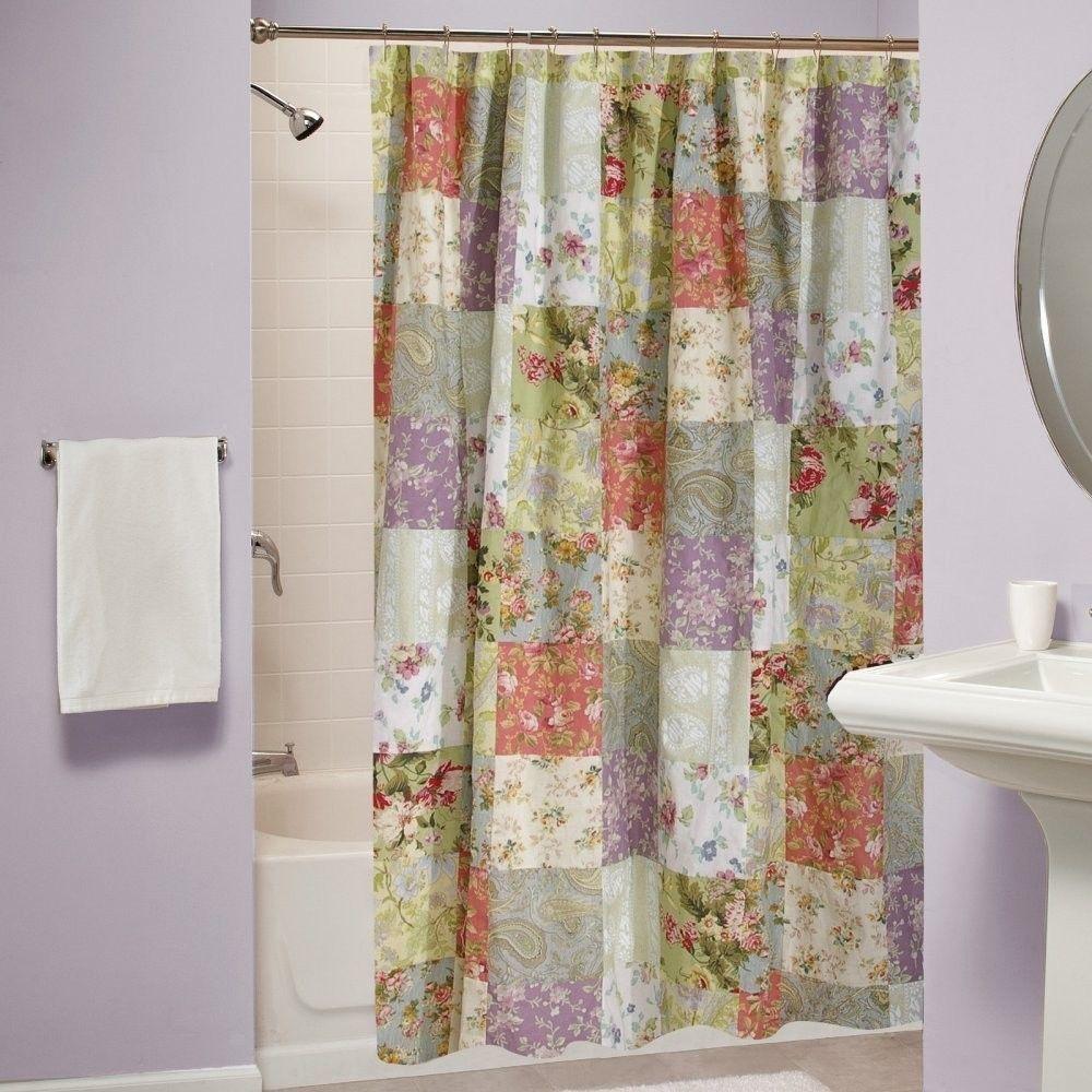 Shower Curtain Bathroom Bath Fabric Cotton Greenland