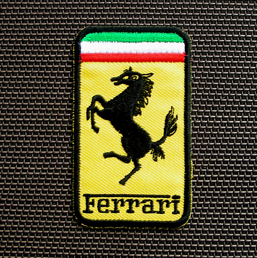 Free download ferrari embroidered patch programs