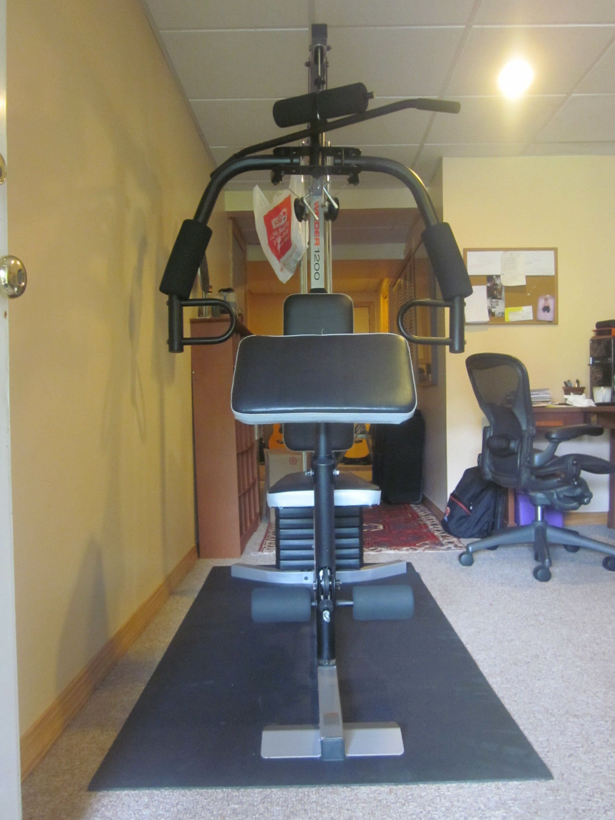 weider 1200 weight machine