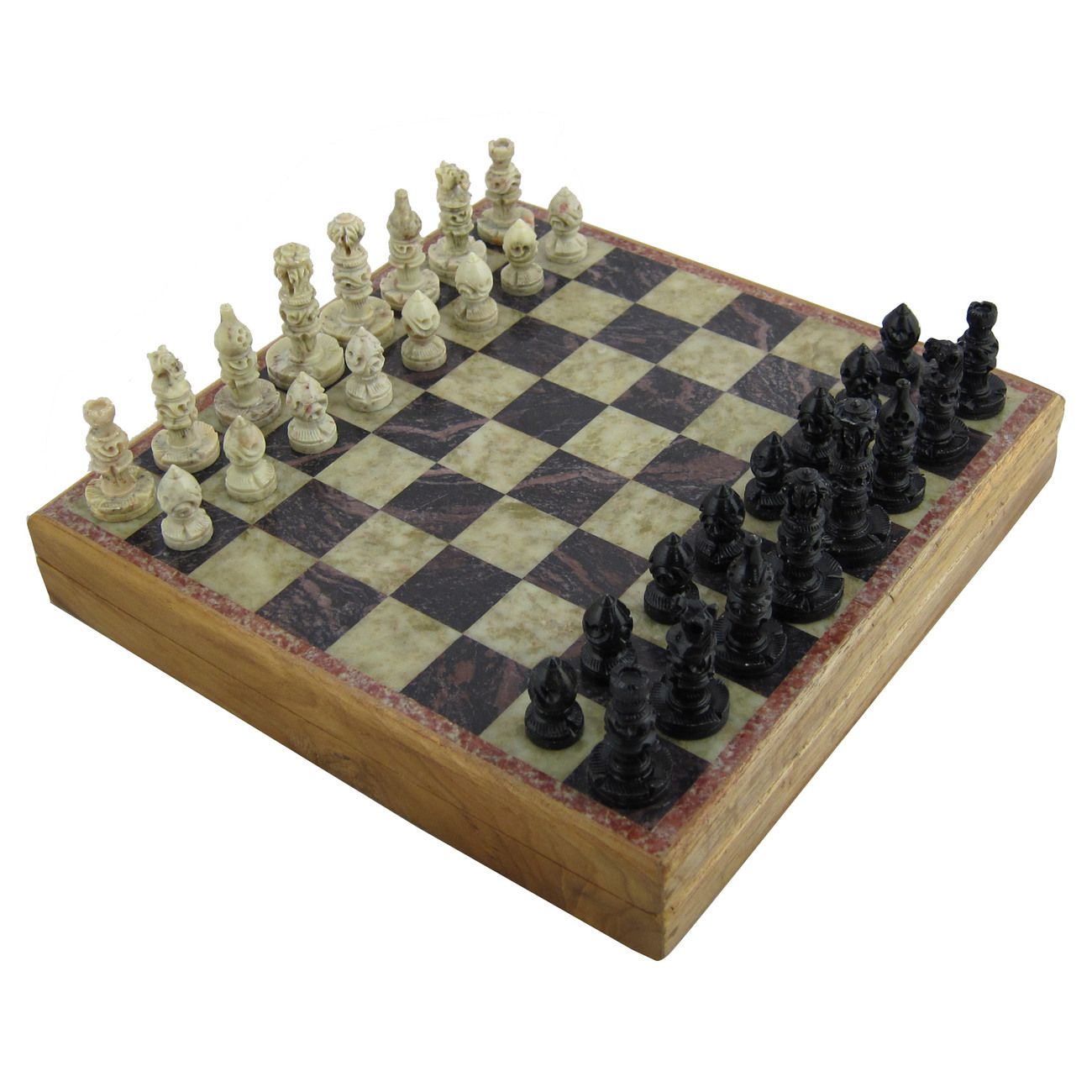 Rajasthan stone art unique chess sets and board chess - Coolest chess boards ...