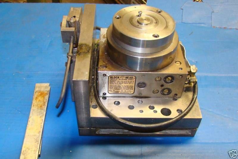 Block head air bearing universal spindle machinist milling machine 4b