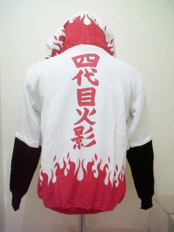 Naruto 4th Hokage Yondaime Minato Konoha Legend Hoodie ...  Naruto 4th Hoka...