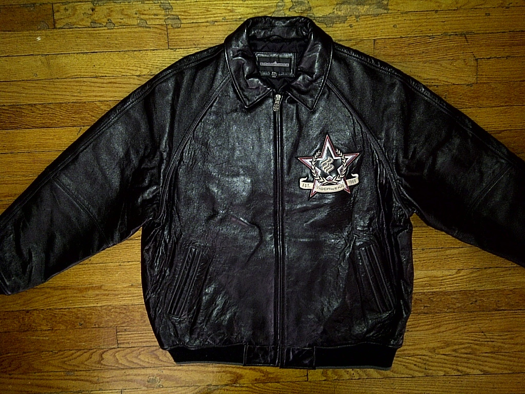 Rocawear leather jackets