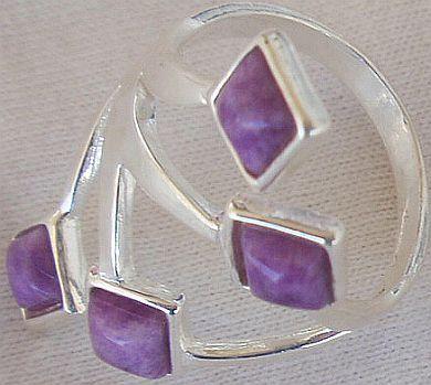 Purple branch ring