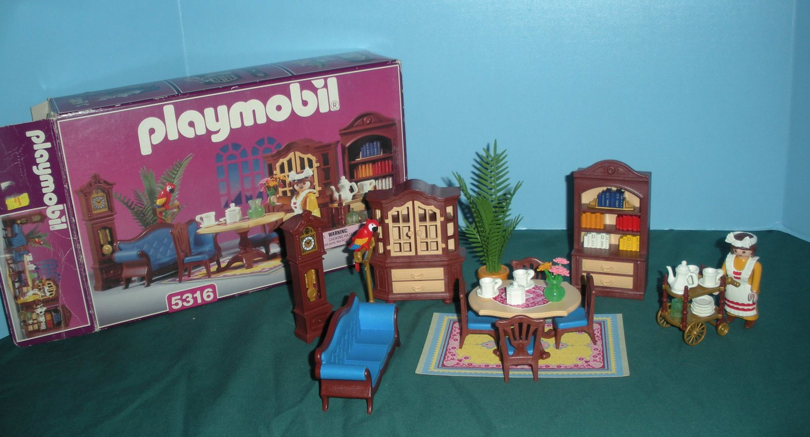 Vtg playmobil 5316 victorian dining room and 50 similar for Playmobil dining room 5335