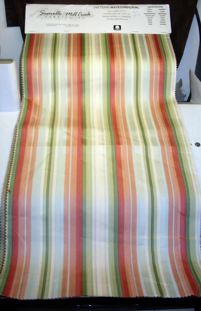 Mill Creek Fabrics Striped Fabrics 16 lg pcs Various Shades