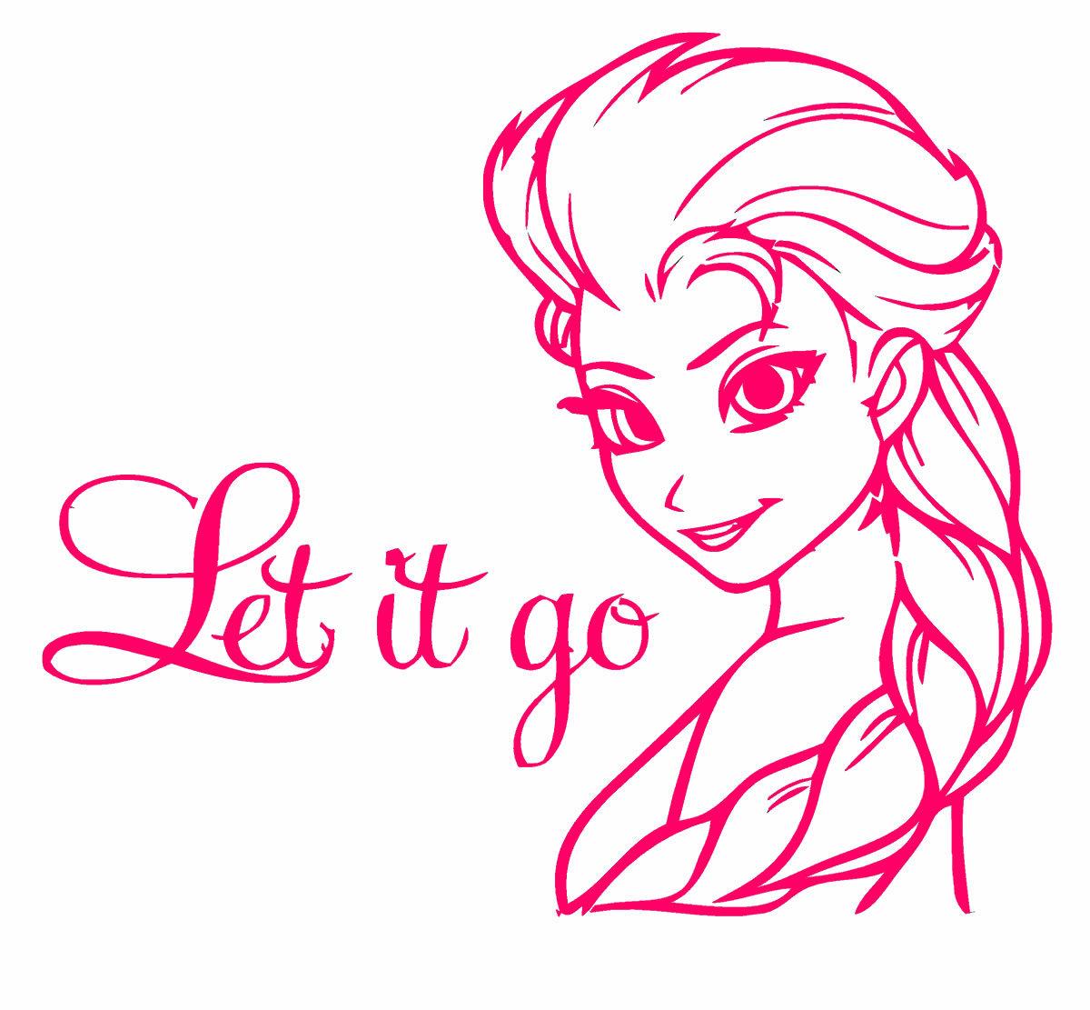 Frozen coloring pages let it go - Elsa Frozen Coloring Page Cartoon Coloring Pages Of Pagestocoloring