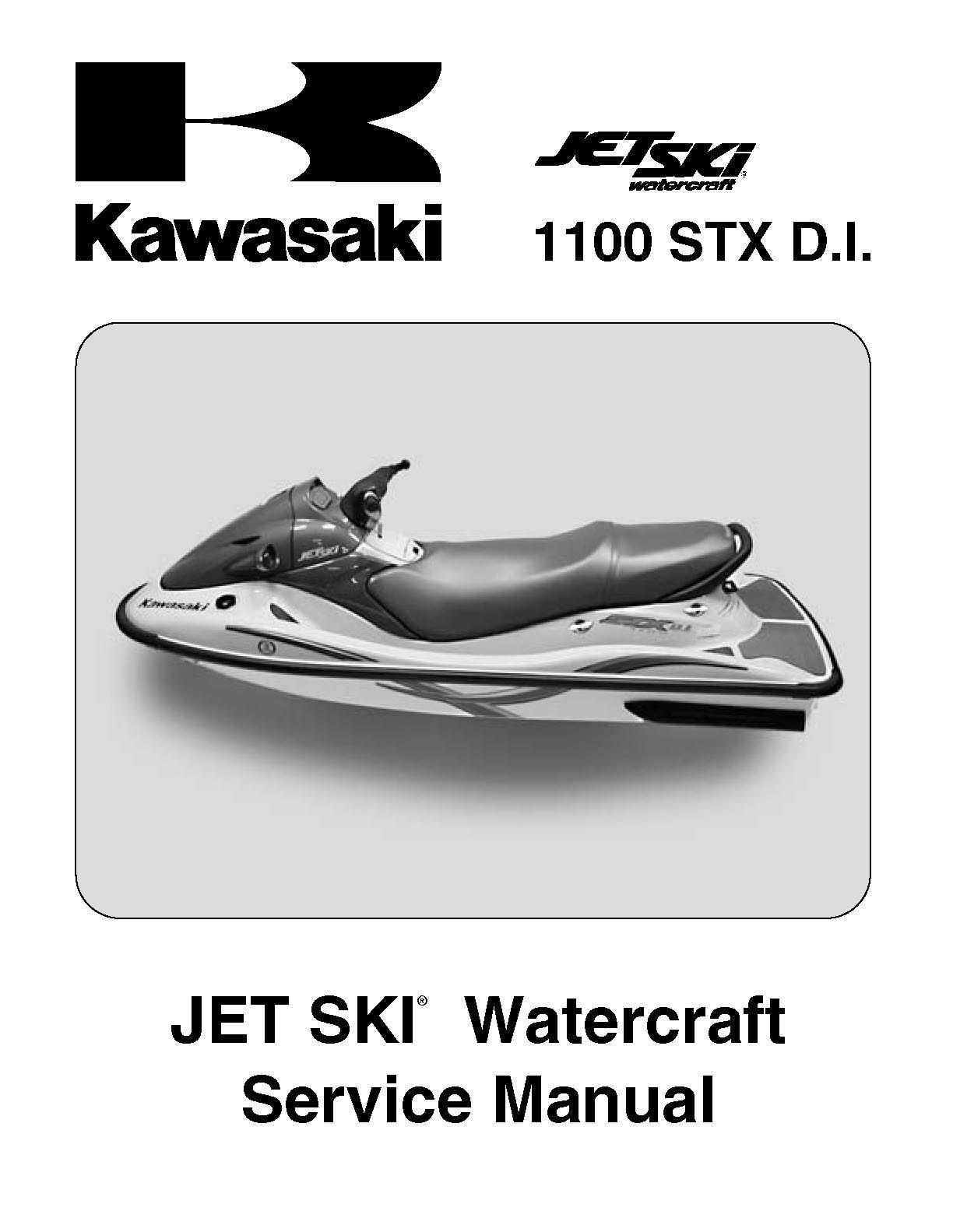 Kawasaki Stx Di Shop Manual