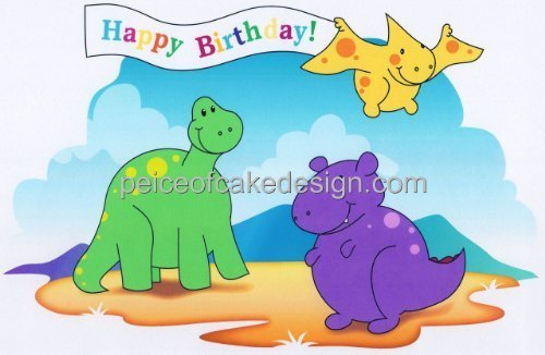 Dinosaur Edible Cake Images Nz : 6