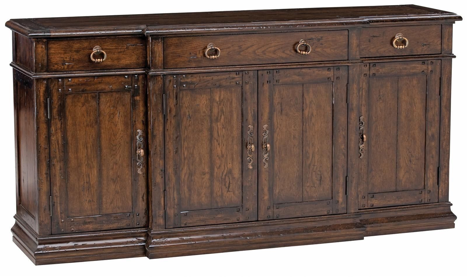 Gorgeous solid wood oak sideboard buffet