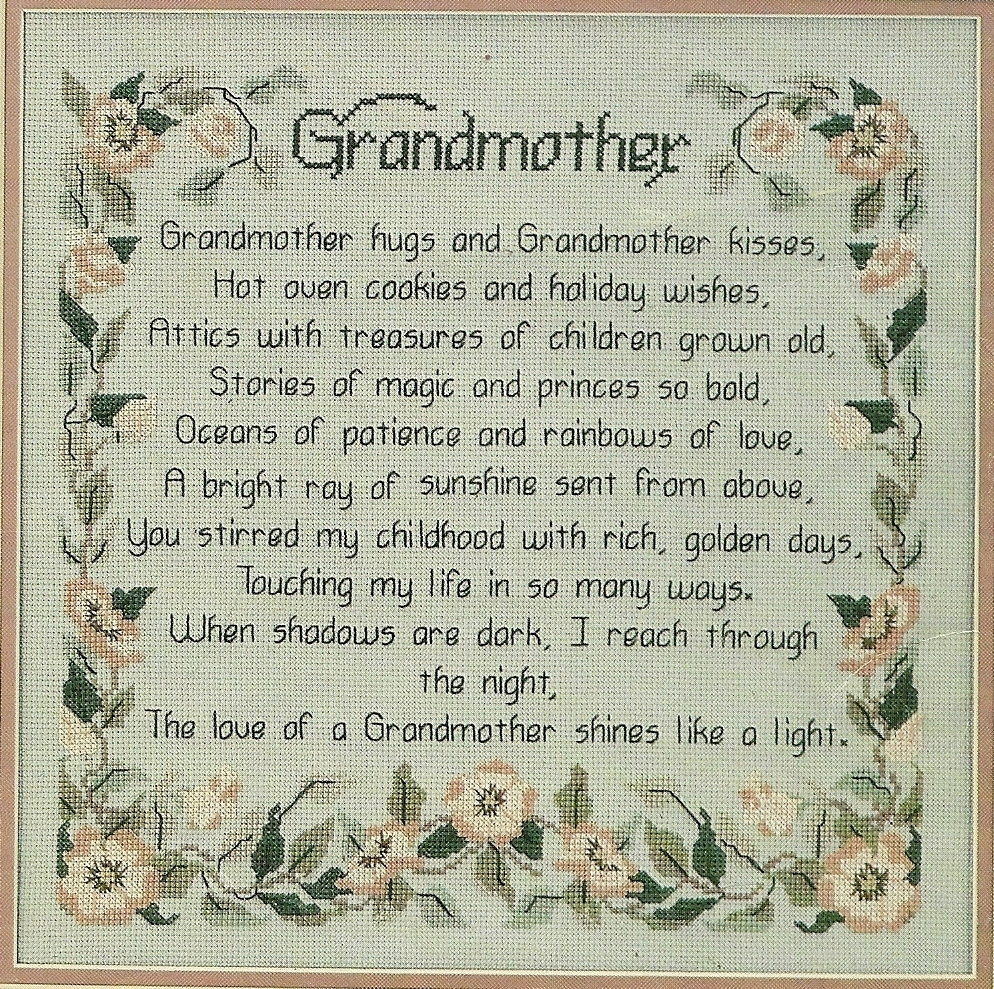 Realize, Poem for granny ready help