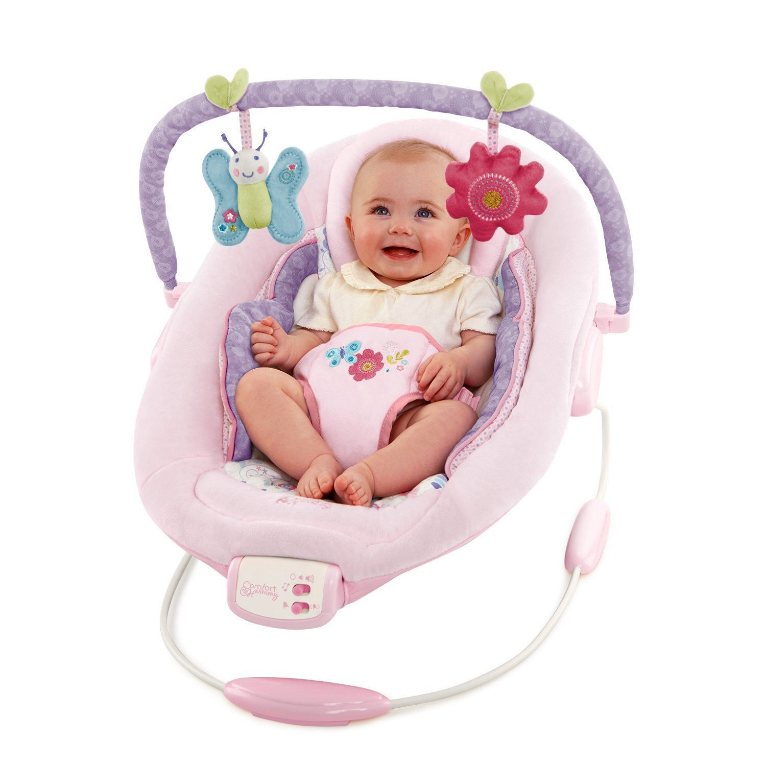 Baby Bouncer Seat Chair Cradling Comfort Infant Portable