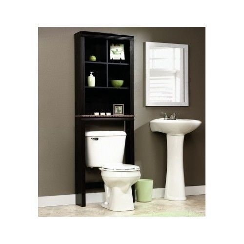 Over the toilet storage bathroom caddy shelf etagere for Small bathroom etagere