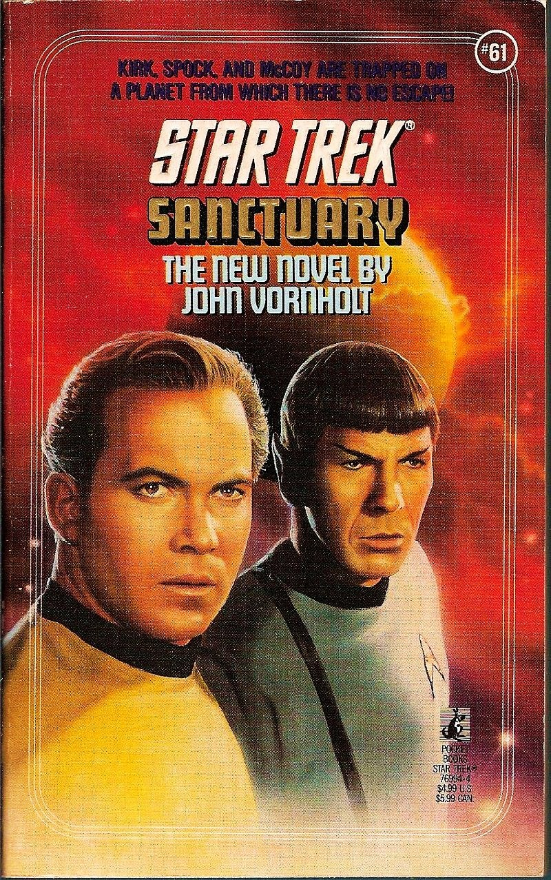 Star Trek Original Series Sanctuary No 61 by John Vornholt 1992 PB