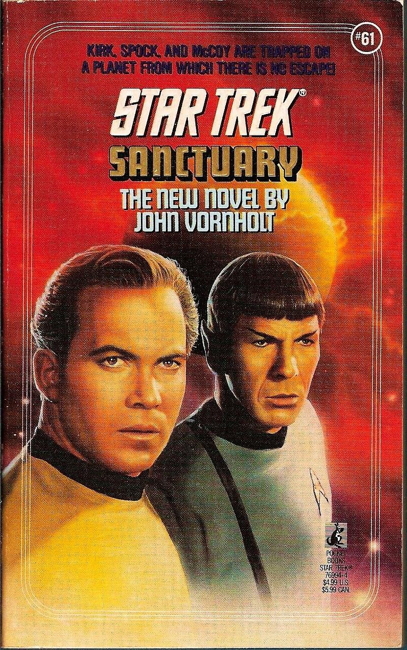 Image 0 of Star Trek Original Series Sanctuary No 61 by John Vornholt 1992 PB