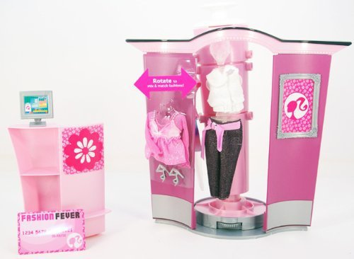 Barbie Fashion Fever Shopping Boutique Playset