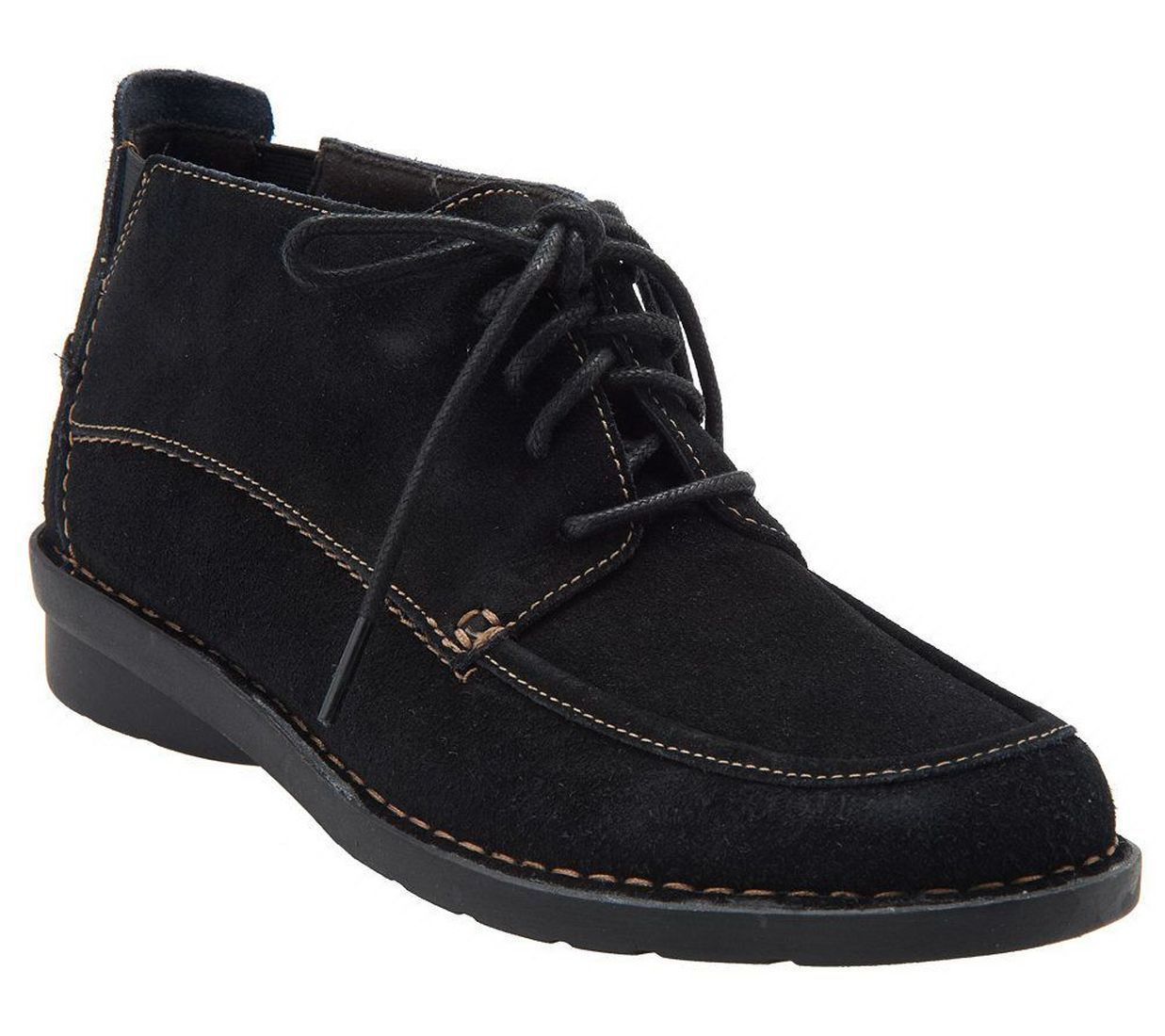 clarks bendables class leather lace up ankle boots