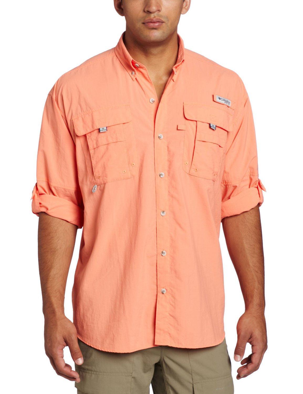 New Columbia Mens Bahama Ii Long Sleeve Fishing Shirt