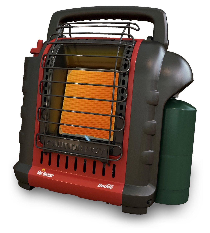 » Mr. Heater Portable Buddy Propane Heater Indoor Outdoor Regulator