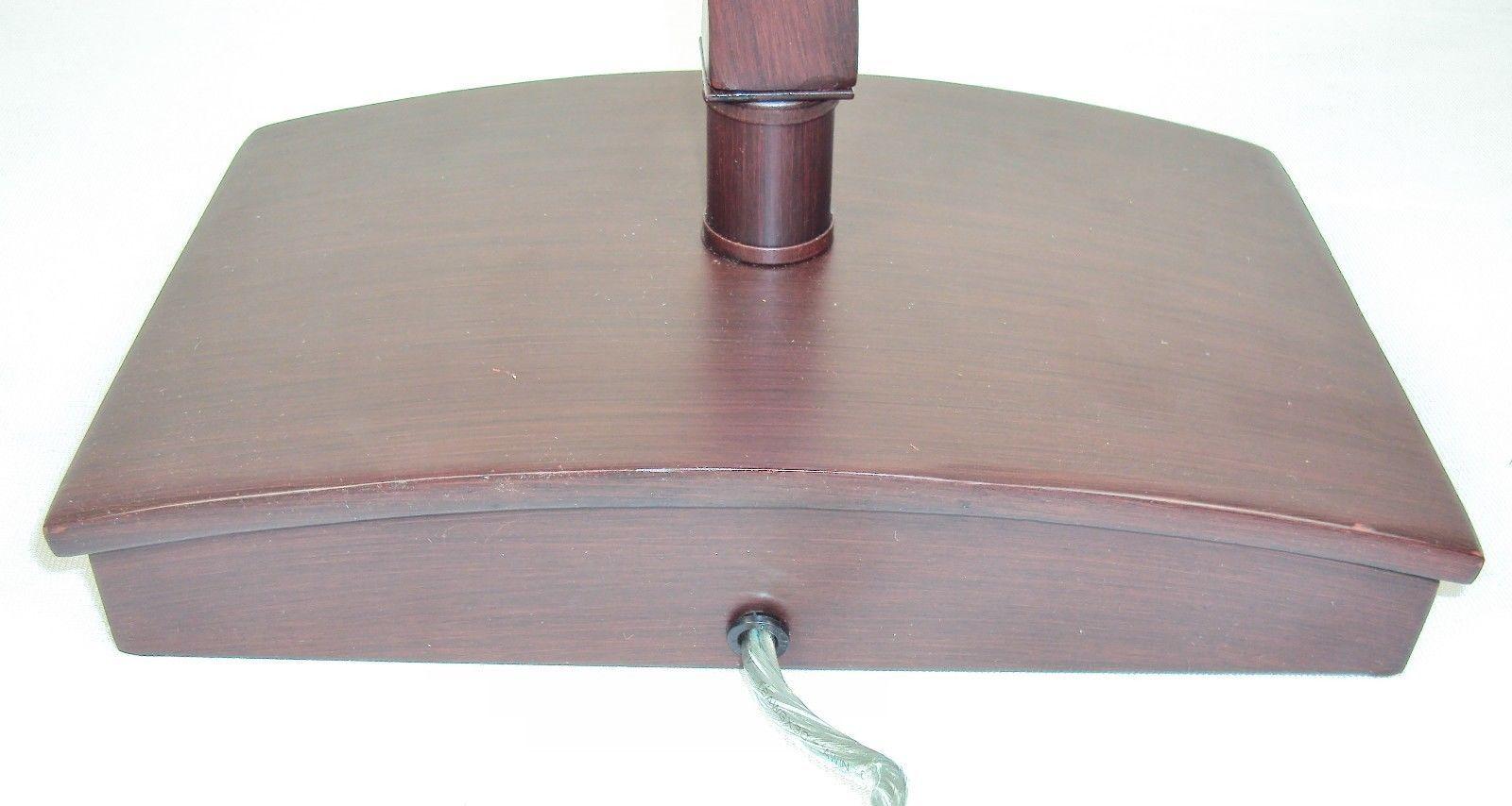 lamp twisted wood column w power outlet on base 2840640 lamps. Black Bedroom Furniture Sets. Home Design Ideas
