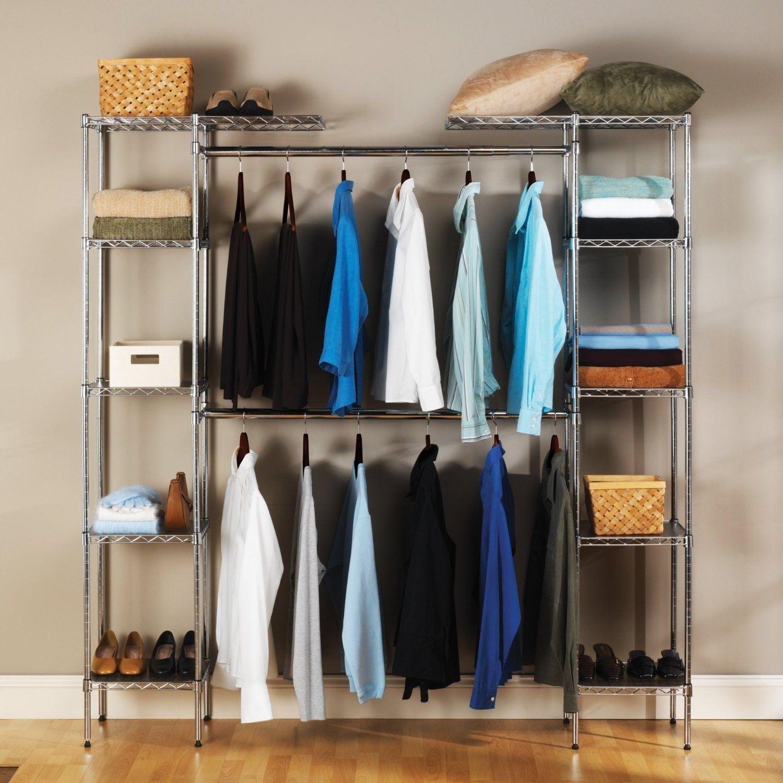 Wardrobe Closet Closet With Adjustable Shelves