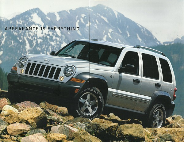 2006 jeep liberty sport special edition brochure catalog. Black Bedroom Furniture Sets. Home Design Ideas