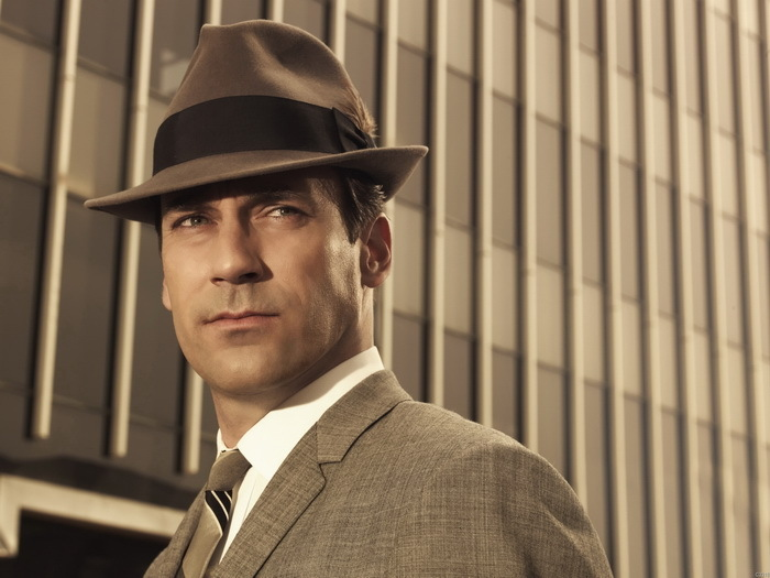 Jon Hamm Actor Don Draper Mad Men TV Series 24x18 Wall Print POSTER HD Wide Wallpaper for Widescreen