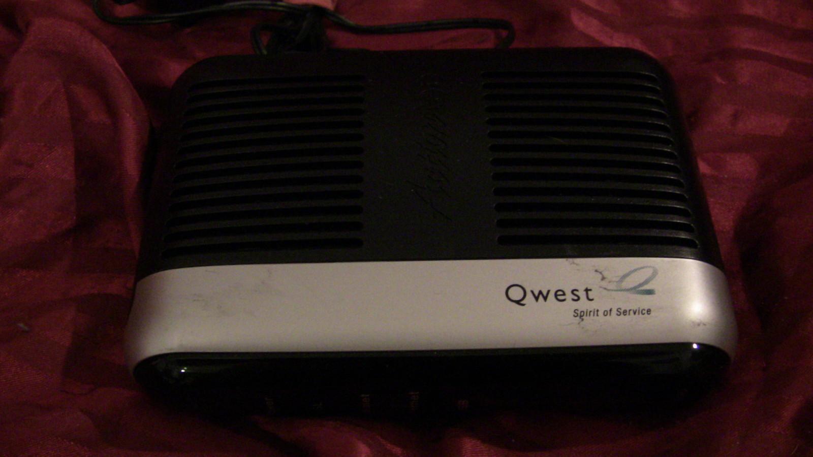 Qwest Actiontec M1000 DSL Modem VERY GOOD CONDITION! - Modems