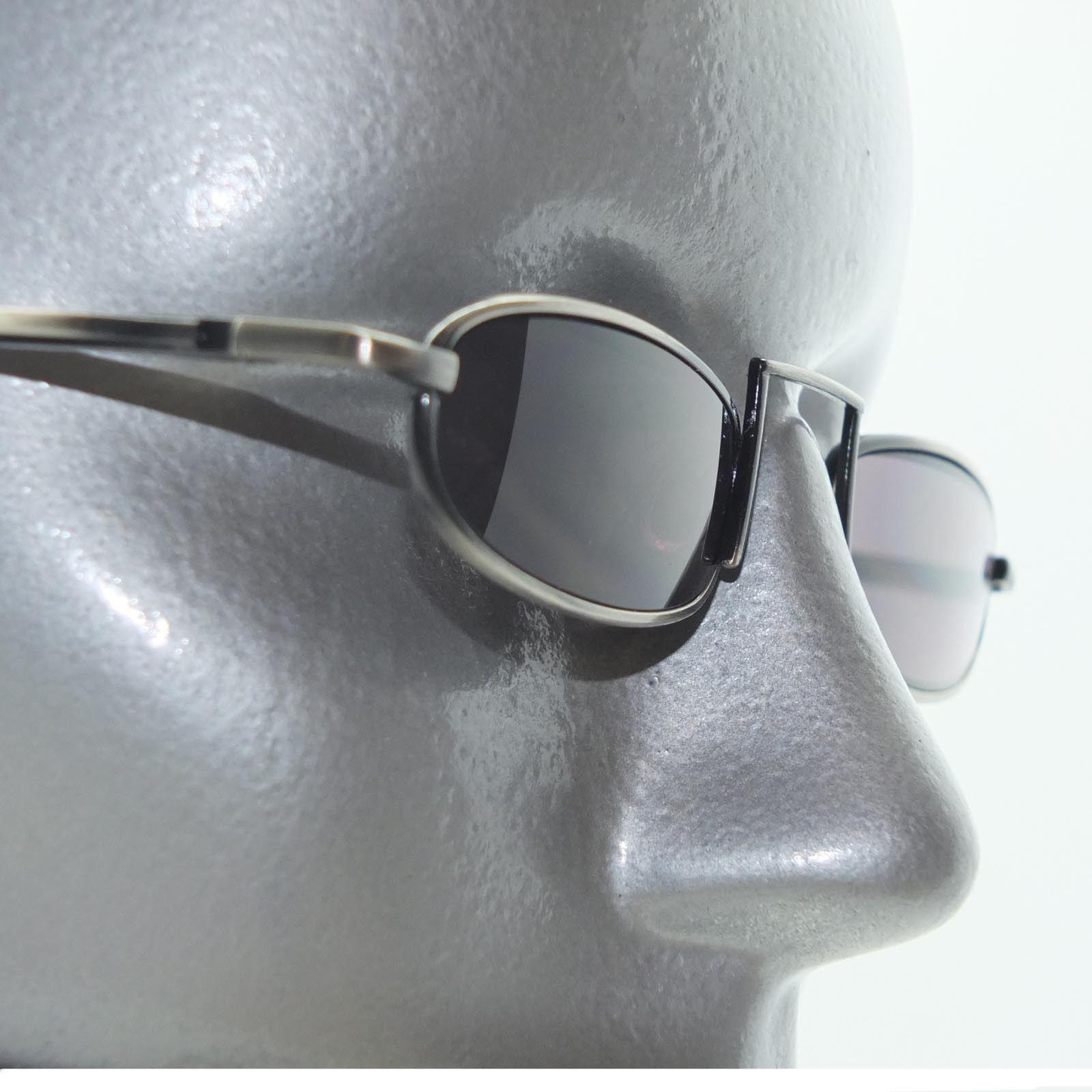 Narrow Frame Reading Glasses : Dark Tint Reading Glasses Xtreme Narrow Lens Boho Gray ...