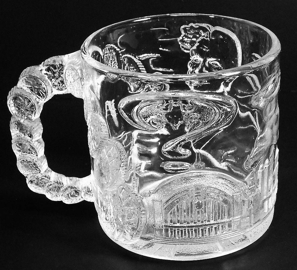 Image 2 of Batman Forever Two-Face Mug McDonalds glass 1995