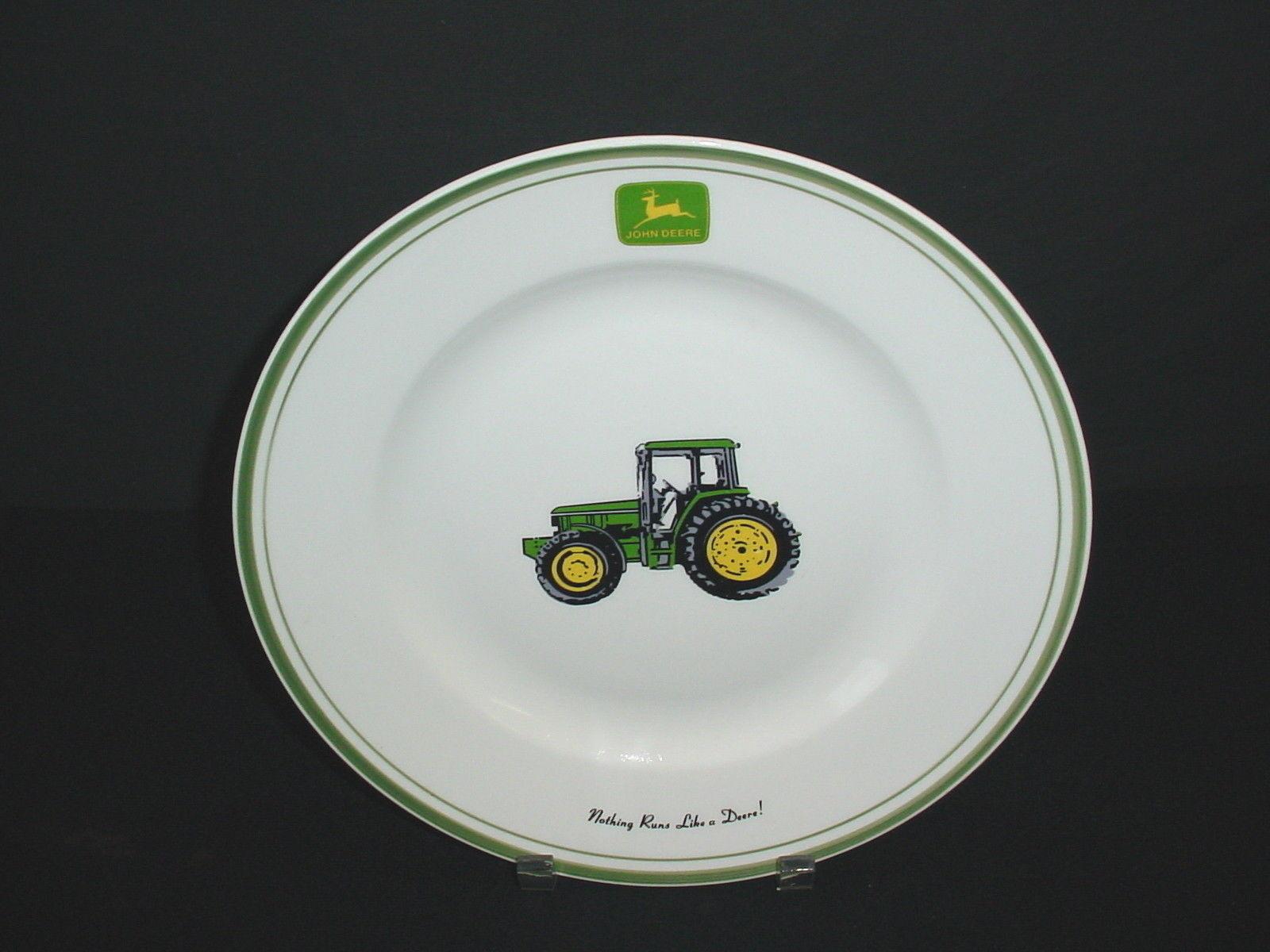 John Deere Tractor Plates : John deere tractor nothing runs like a gibson dinner