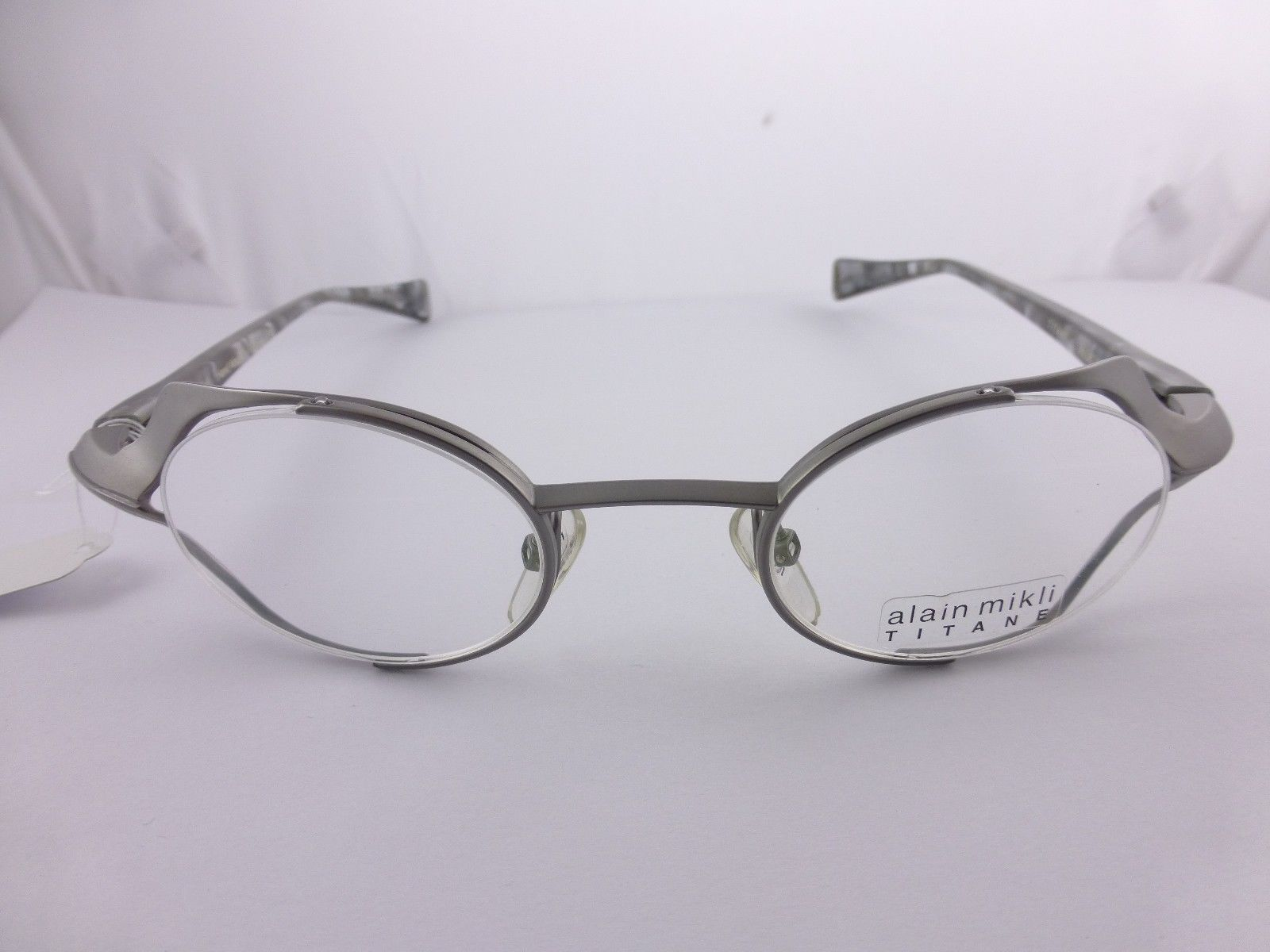 Custom Made Eyeglass Frames New York : Alain Mikli Fashion Great Eyeglasses Grey Hand Made MOD ...