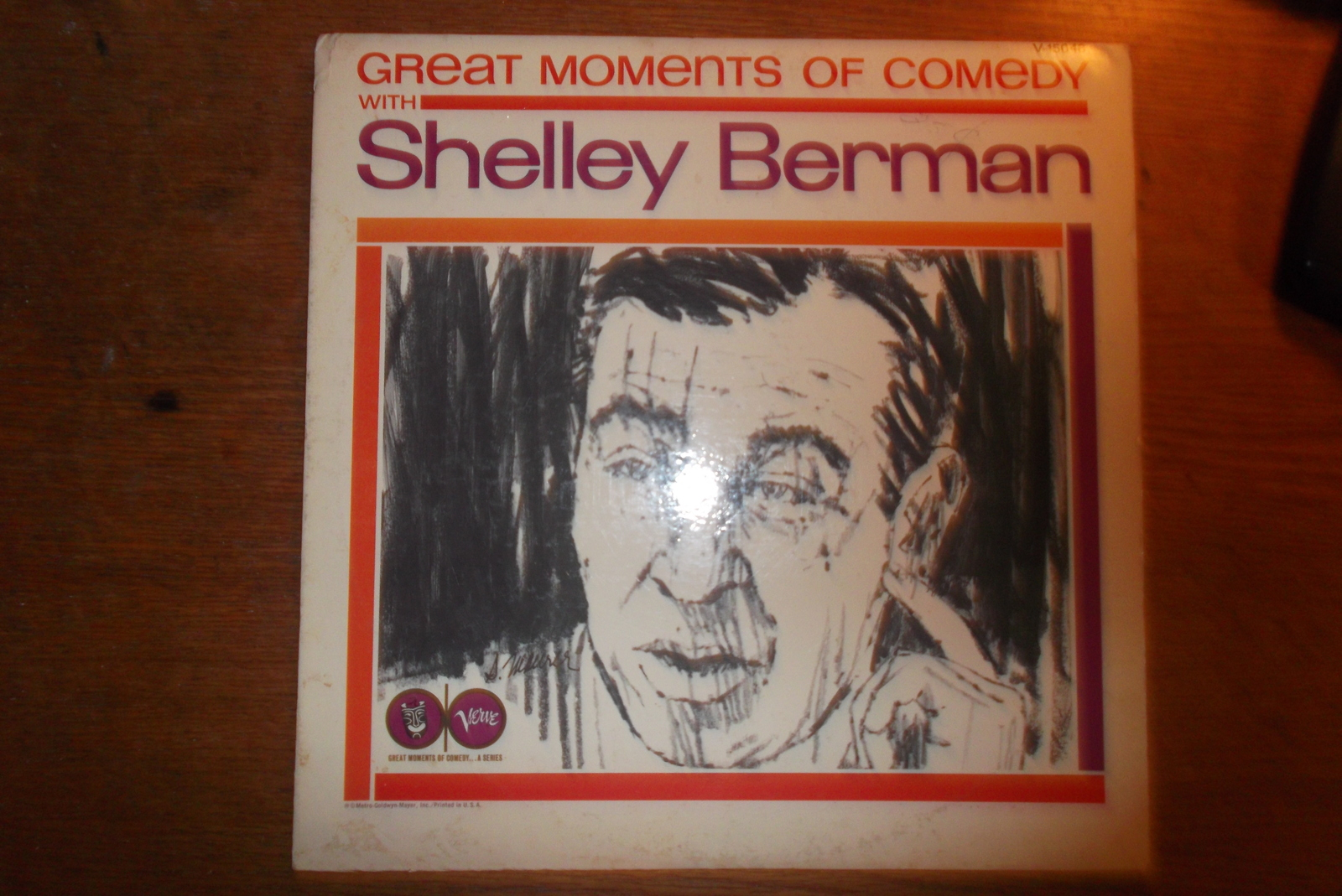 Shelley Berman Wallpapers See the small card with the code on it The seller printed that out