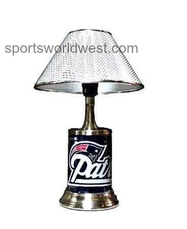 New England Patriots Desk Lamp Football Nfl