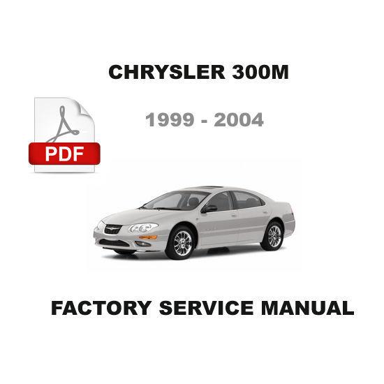 1999 2000 2001 2002 2003 2004 chrysler 300m factory. Black Bedroom Furniture Sets. Home Design Ideas