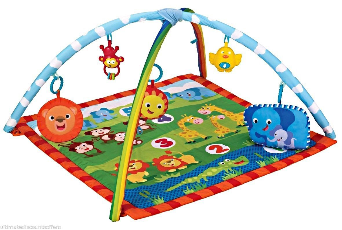 Baby Gift Play Mat Toy Cot Mattress Padded Travel Playmat