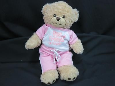 TALKING I LOVE YOU BUILD A BEAR BEST FRIENDS FOREVER BFF CHEER PANTS TEDDY PLUSH, used for sale
