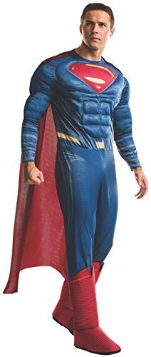 Image 0 of Rubie's Men's Batman v Superman: Dawn Of Justice Deluxe Superman Costume, XL
