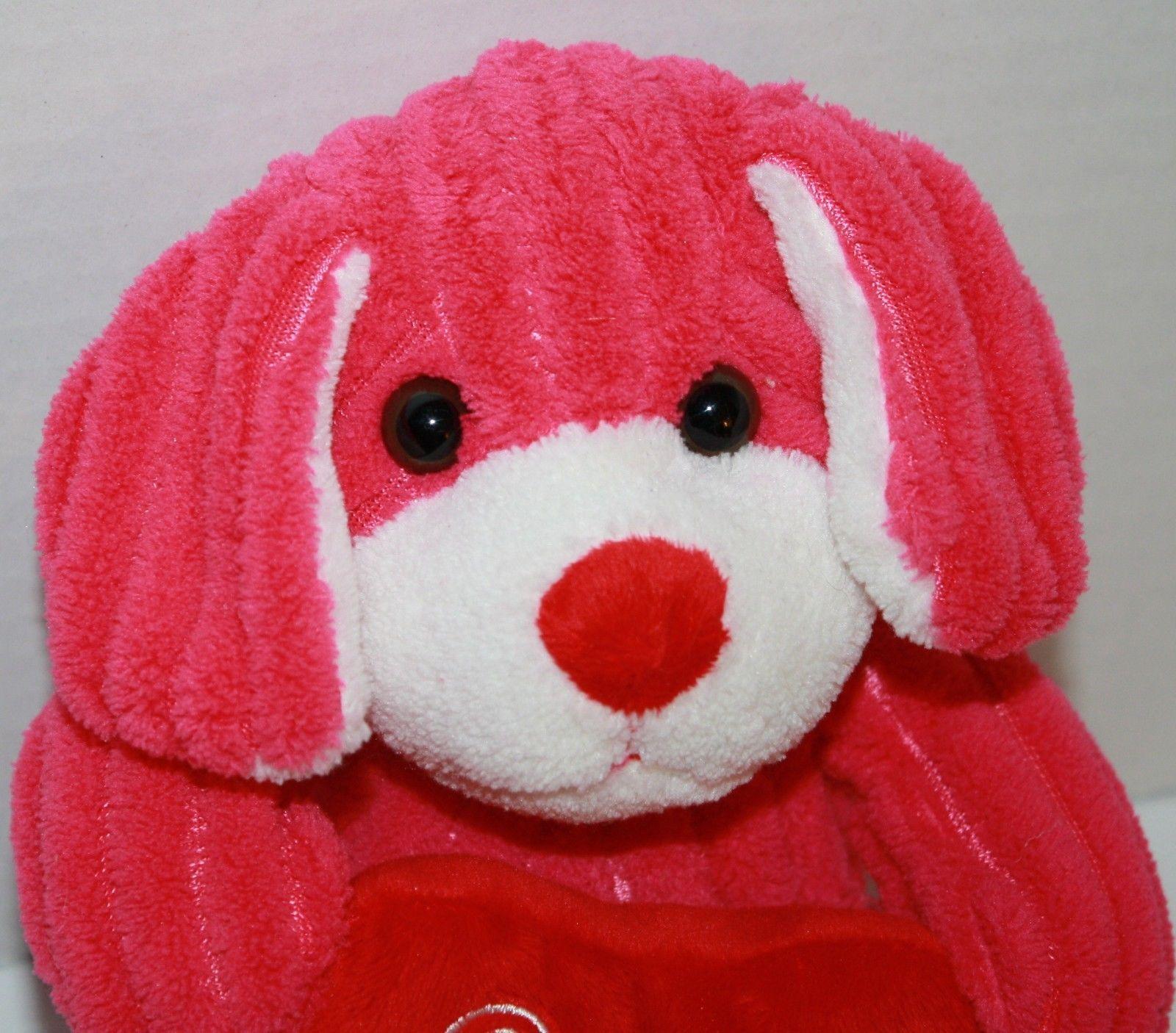 Plush Target Dog Target Pink Plush Chenille