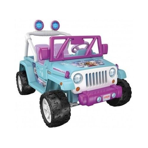 Power Wheel Battery Disney Frozen Toy Car Jeep Wrangler