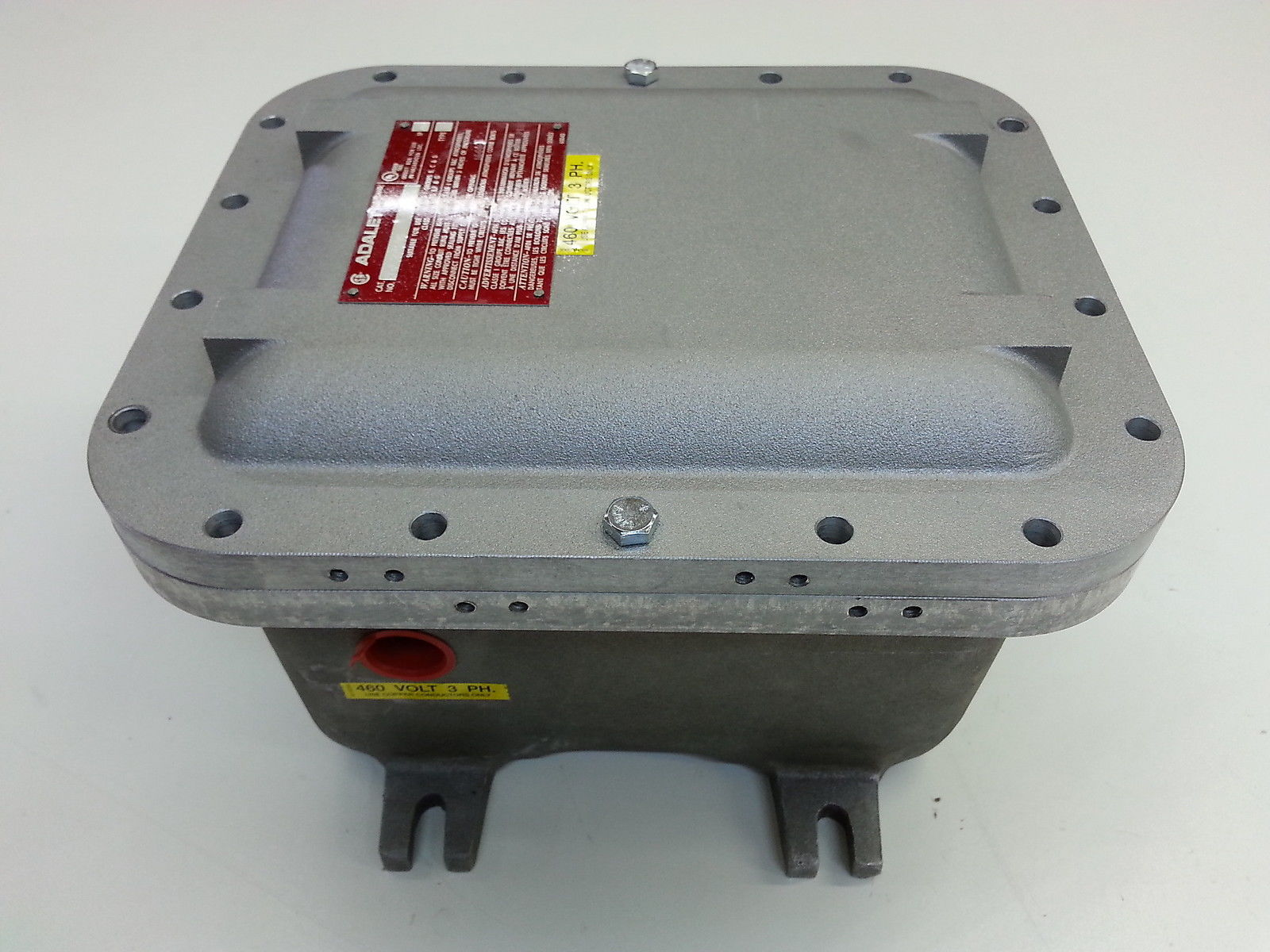 Adalet Xjf 081006 Explosion Proof Motor Starter 460v 3