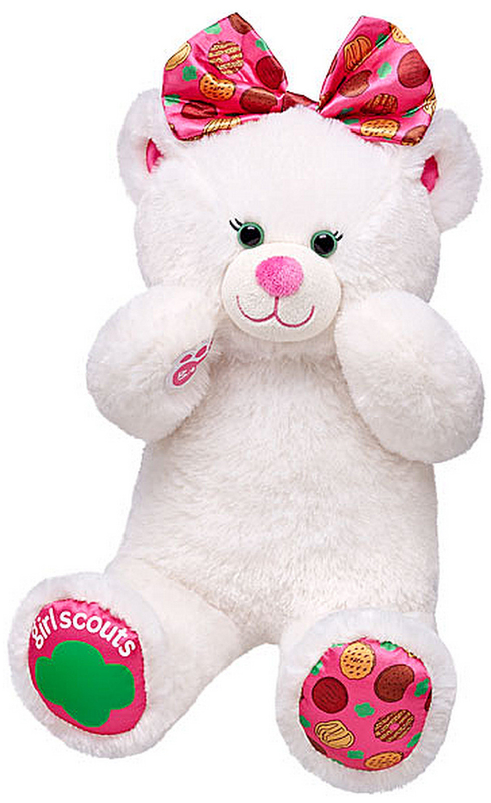 Build A Bear Girl Scout Bear
