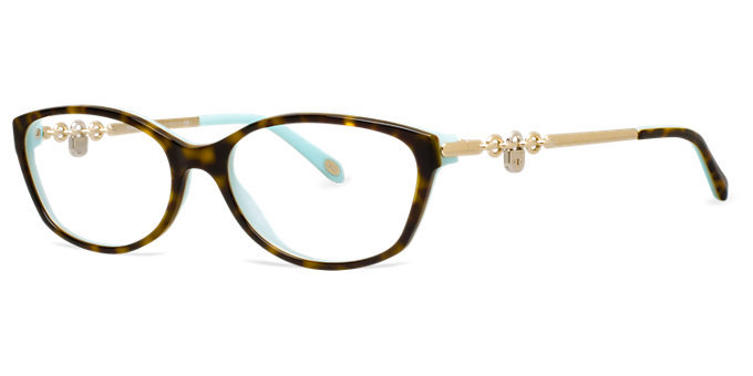 New Authentic Tiffany & Co. TF2063 8134 Tortoise Blue ...