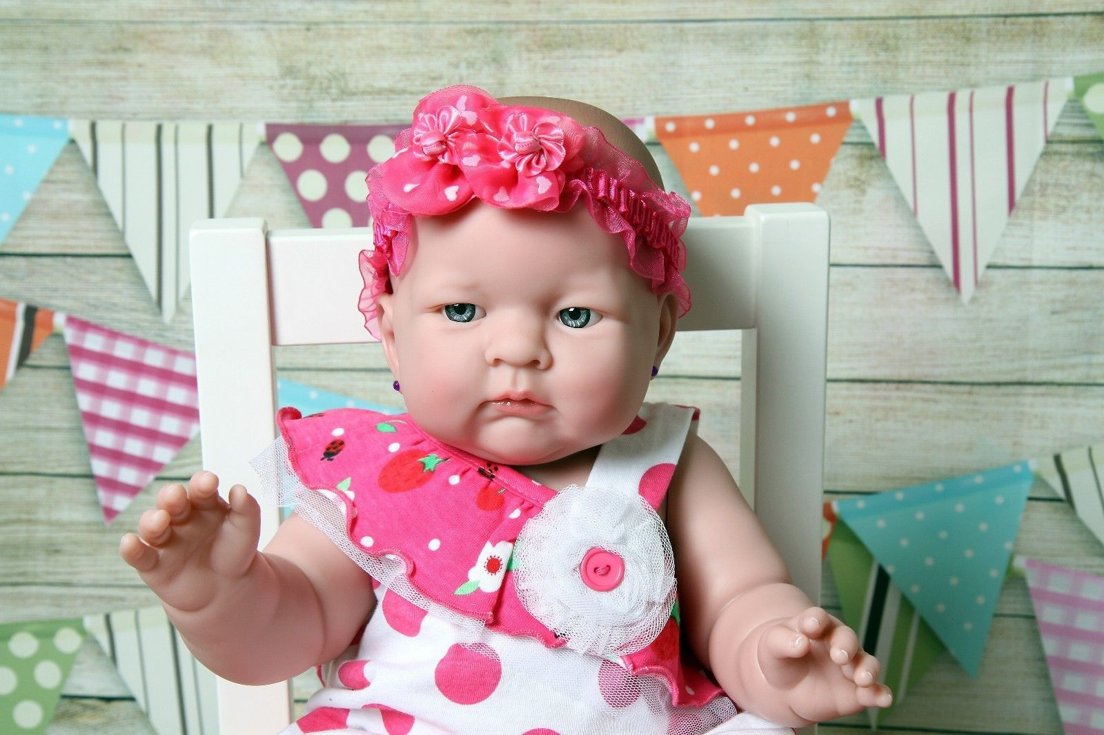 "Baby Reborn Doll Berenguer Real Clothes 18"" and 17 similar"