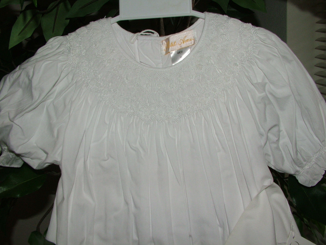 Image 5 of Gorgeous Petit Ami White Heirloom Boutique Lined Party Dress, Wedding - White -